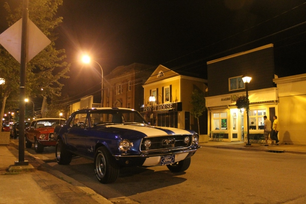 A little Muscle in Wolfville, Nova Scotia